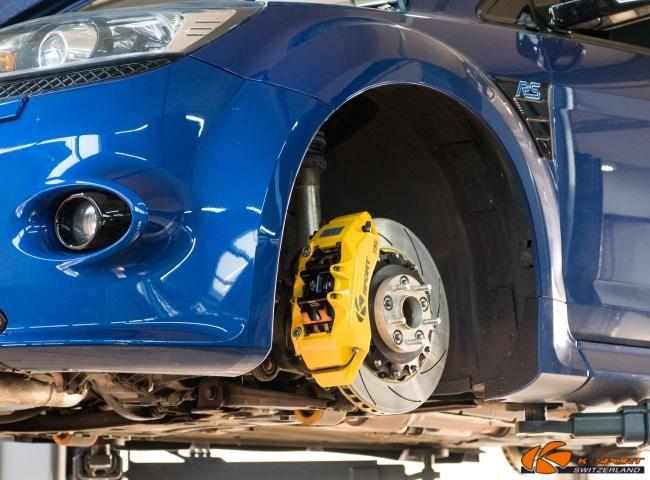 K-Sport Sportbremsen / Big Brake Kits Ford Focus RS / RS500 mit CH-Gutachten