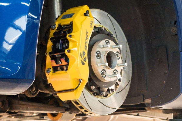 K-Sport Bremsen Big Brake Kit mit CH-Gutachten